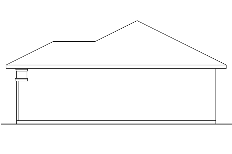 Traditional 4 Car Garage Plan 41247 Picture 2