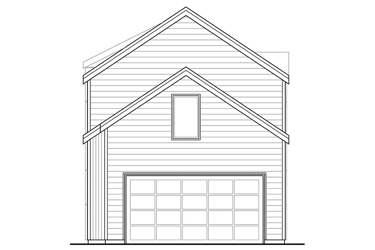 Contemporary, Southwest House Plan 41388 with 3 Beds, 3 Baths, 2 Car Garage Rear Elevation