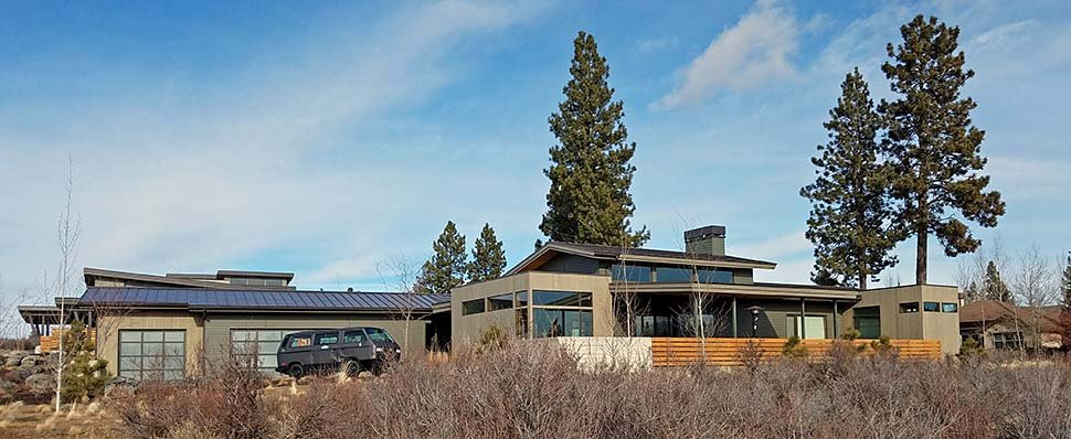 Contemporary, Modern House Plan 43317 with 3 Beds, 4 Baths, 3 Car Garage Picture 2