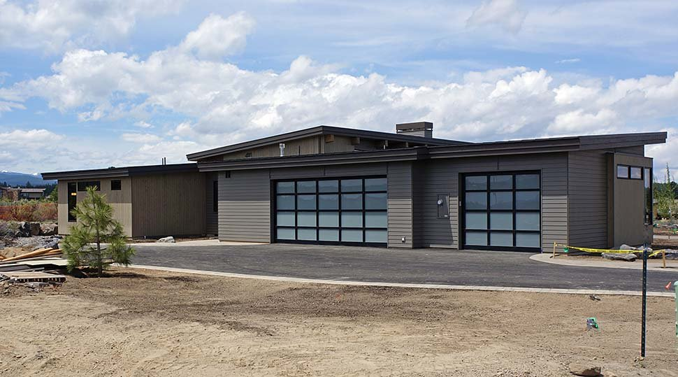 Contemporary, Modern House Plan 43319 with 3 Beds, 4 Baths, 3 Car Garage Picture 2