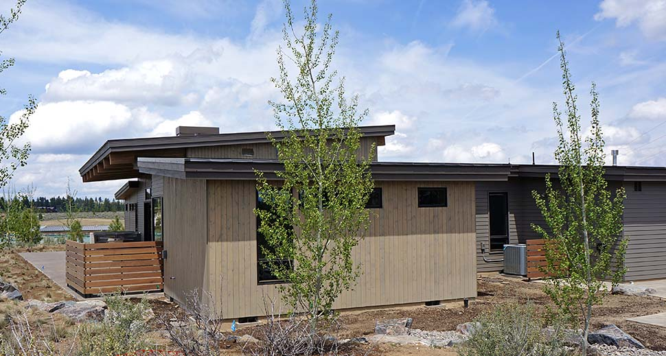 Contemporary, Modern House Plan 43319 with 3 Beds, 4 Baths, 3 Car Garage Picture 4