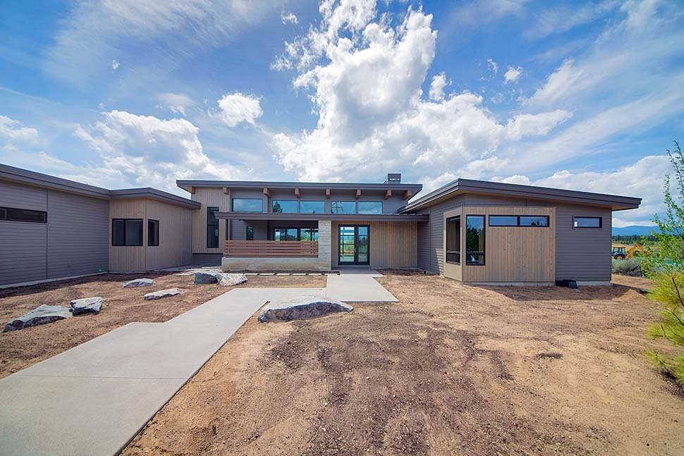 Contemporary, Modern House Plan 43319 with 3 Beds, 4 Baths, 3 Car Garage Picture 6
