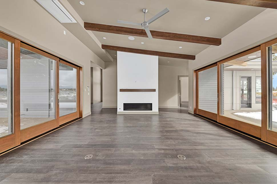 Contemporary, Modern House Plan 43333 with 4 Beds, 4 Baths, 3 Car Garage Picture 15