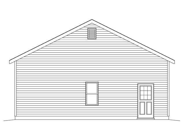 2 Car Garage Plan 45138 Picture 1