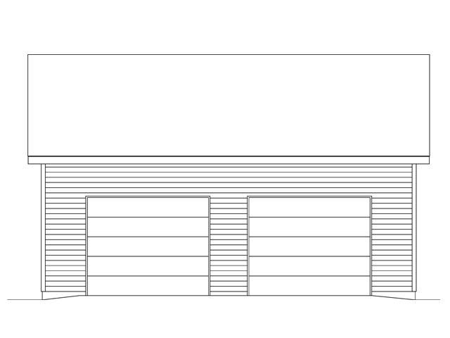 2 Car Garage Plan 45138 Picture 3