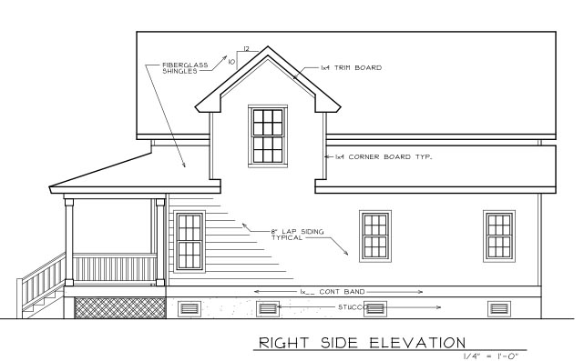 Country, Farmhouse House Plan 45628 with 3 Beds, 3 Baths Picture 3