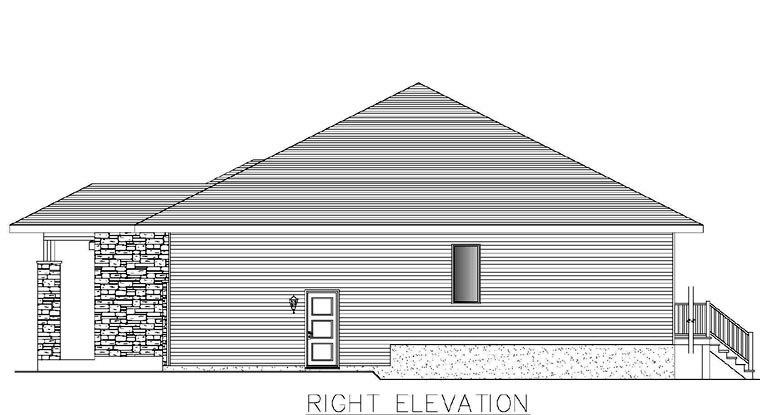 Contemporary Multi-Family Plan 50321 with 4 Beds, 2 Baths, 2 Car Garage Picture 2