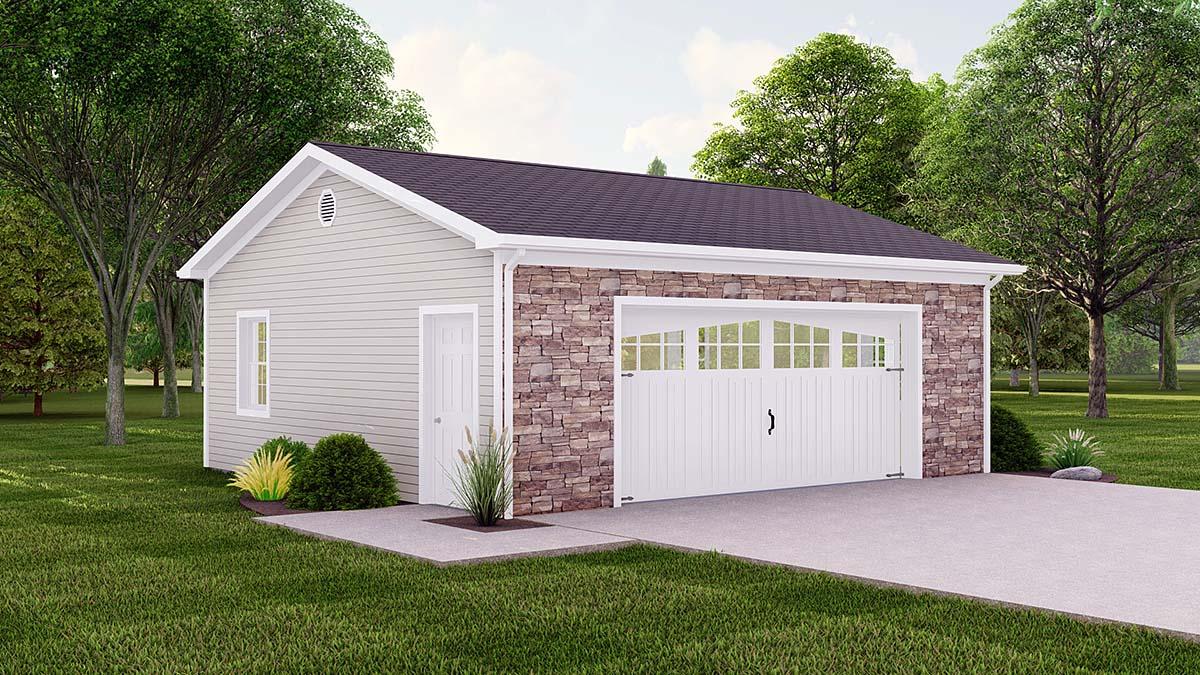 Garage Plan 50616