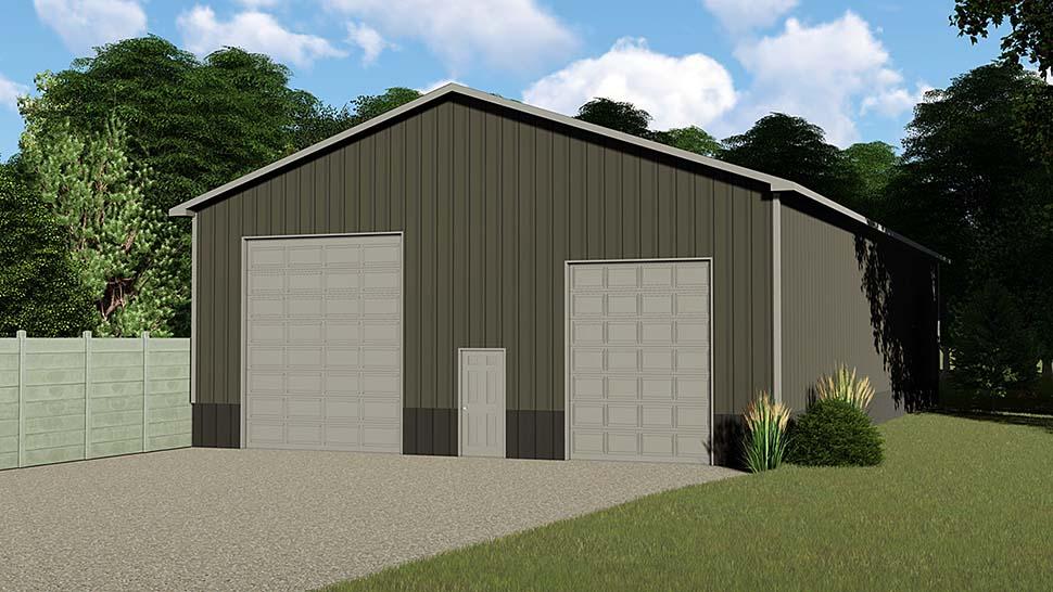 Garage Plan 50625