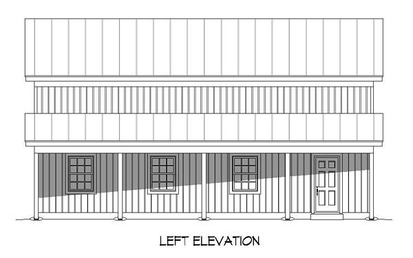 Country 2 Car Garage Plan 51507 Picture 1