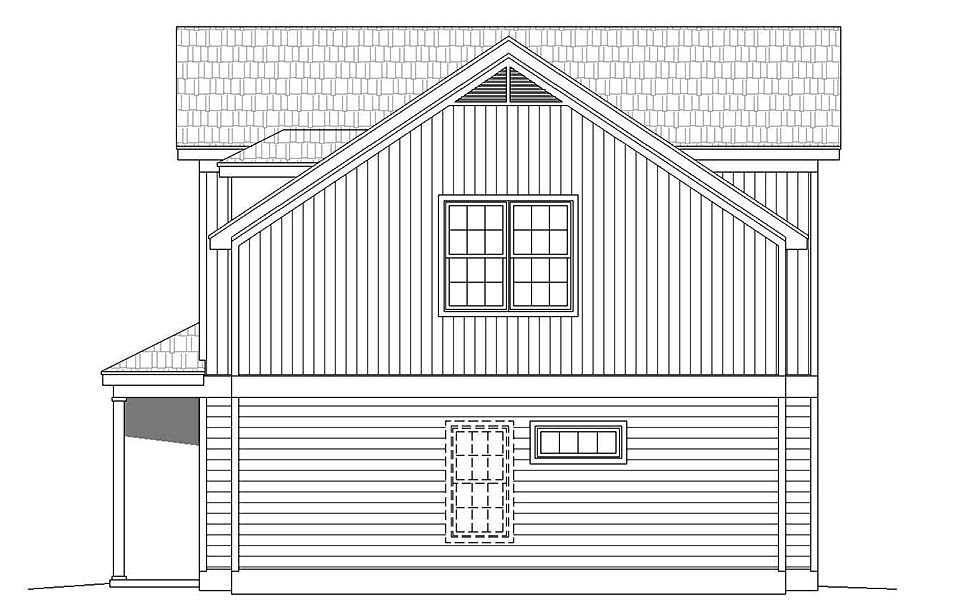 Traditional House Plan 51617 with 3 Beds, 3 Baths Picture 1