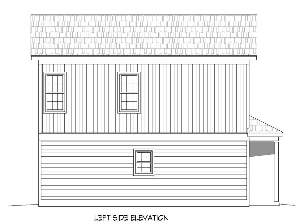 Traditional House Plan 51617 with 3 Beds, 3 Baths Picture 2