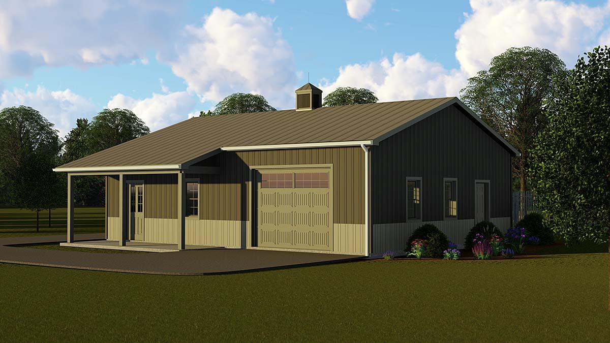 Garage Plan 51876