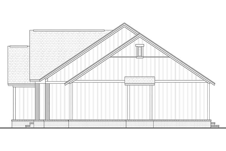 Country, Farmhouse, Southern, Traditional House Plan 51997 with 3 Beds, 2 Baths, 2 Car Garage Picture 1