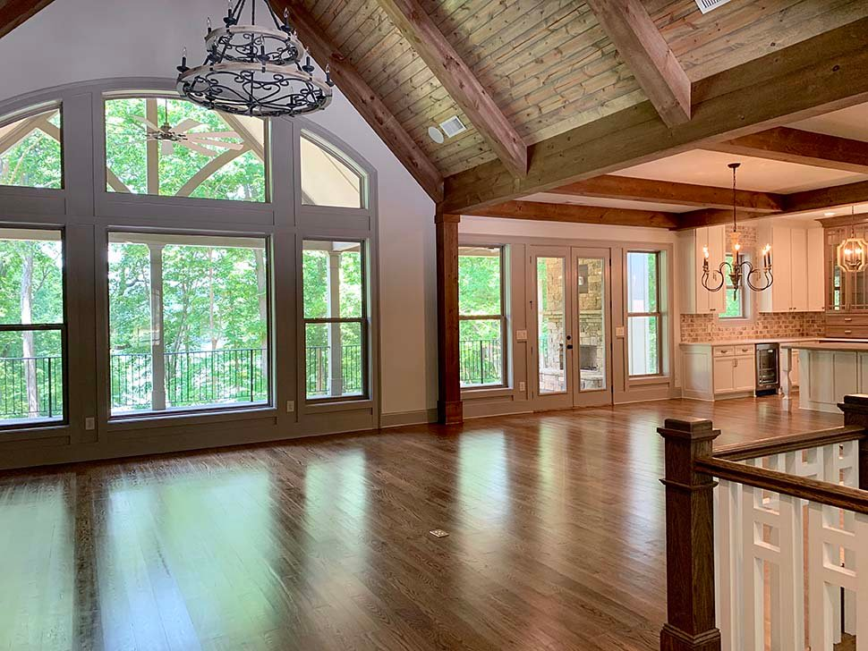 Country, Craftsman, French Country House Plan 52005 with 4 Beds, 4 Baths, 3 Car Garage Picture 6