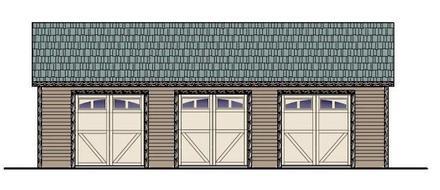Garage Plan 54774