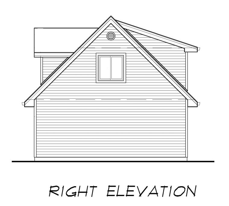 Country 2 Car Garage Plan 55556 Picture 2