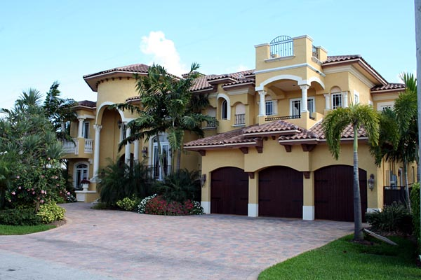 Mediterranean House Plan 55802 with 6 Beds, 8 Baths, 3 Car Garage Picture 1
