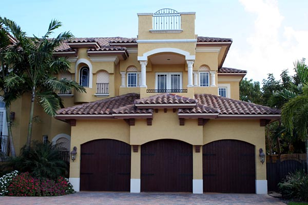 Mediterranean House Plan 55802 with 6 Beds, 8 Baths, 3 Car Garage Picture 2