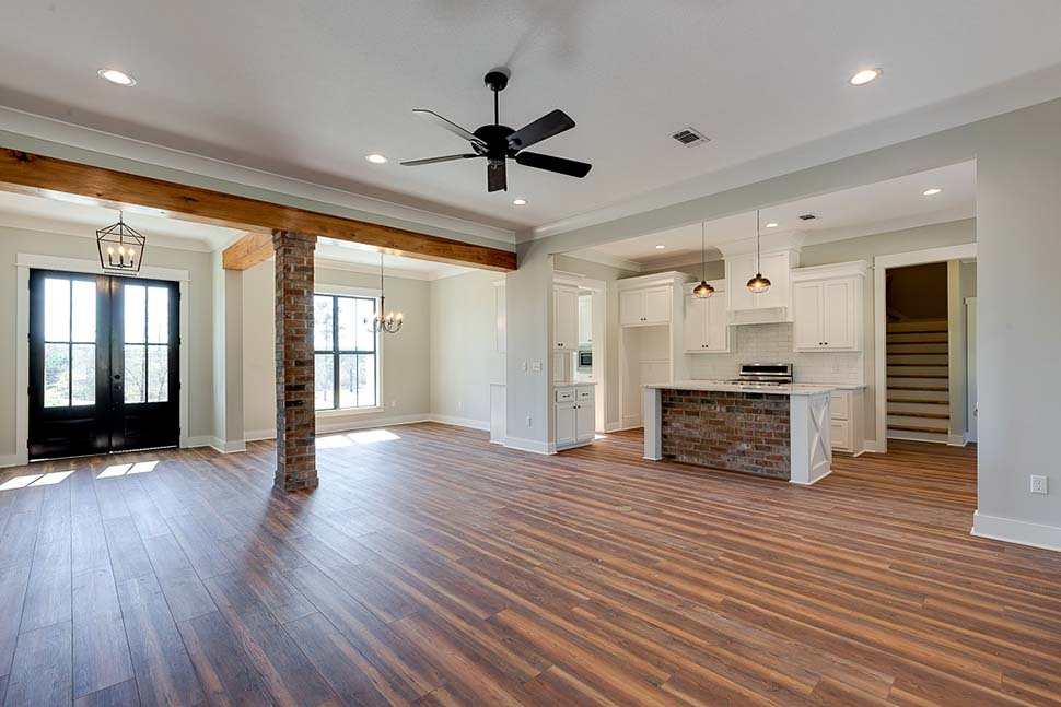 Country, Craftsman, Farmhouse House Plan 56912 with 3 Beds, 2 Baths, 2 Car Garage Picture 11