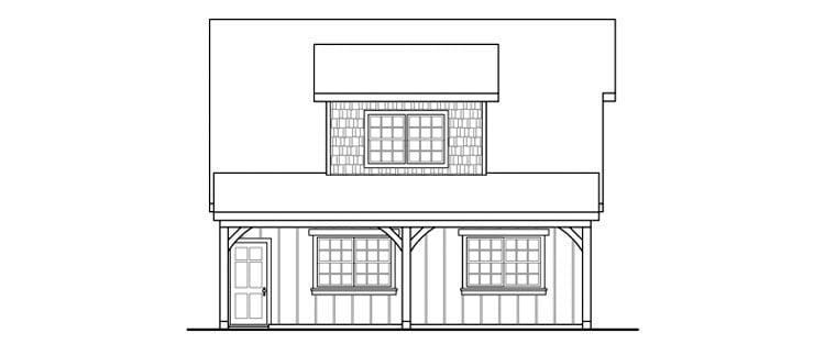 Country, Craftsman, Farmhouse 2 Car Garage Plan 59479 Picture 2