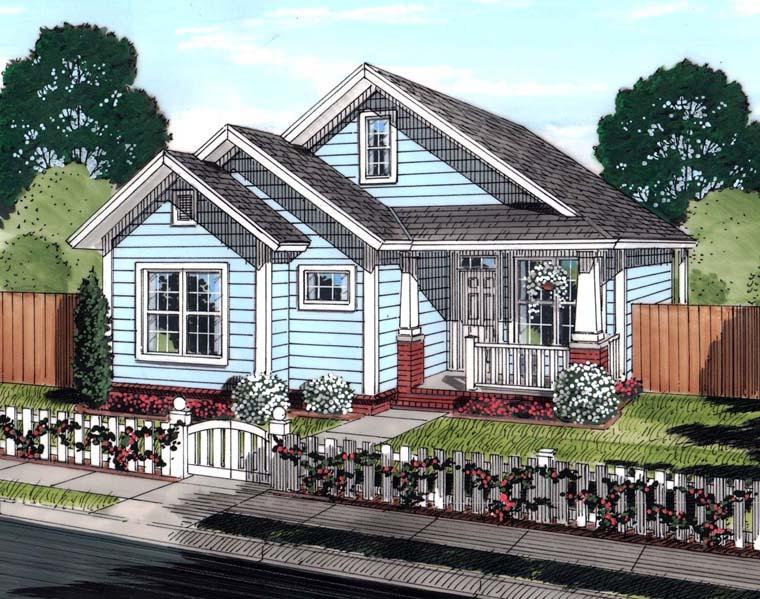 House Plan 61448