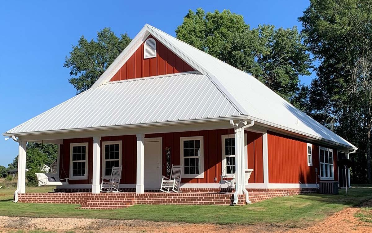Country House Plan 64564 with 2 Beds, 2 Baths Picture 1