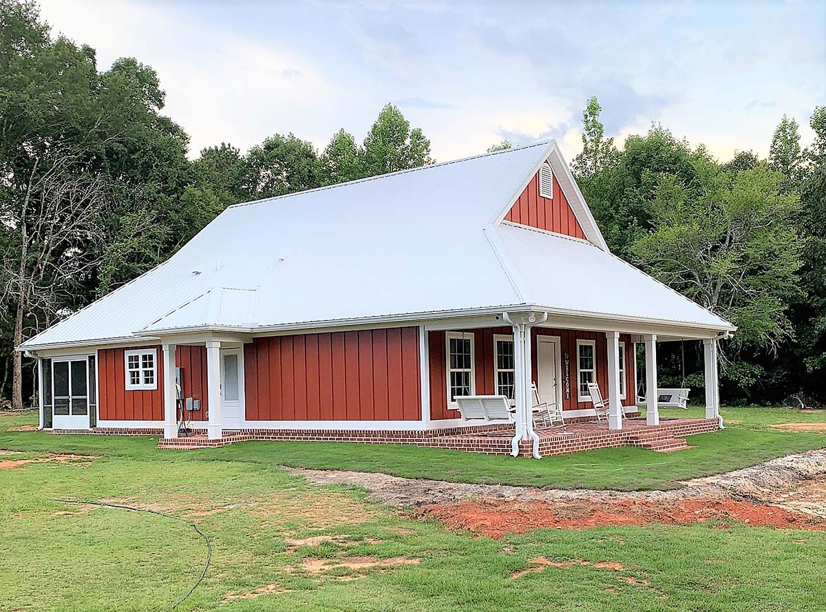 Country House Plan 64564 with 2 Beds, 2 Baths Picture 2