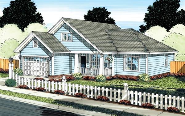House Plan 66530