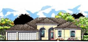Plan Number 66883 - 2830 Square Feet