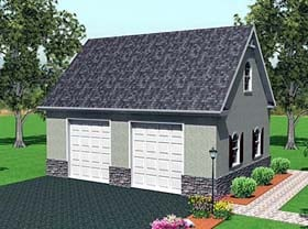 Plan Number 67304 - 512 Square Feet