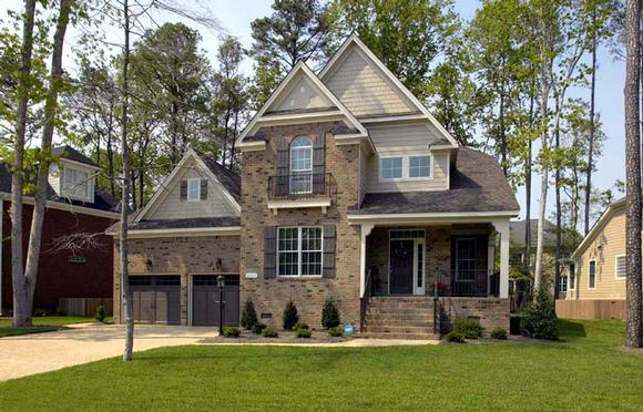 Country House Plan 68342 with 4 Beds, 4 Baths, 2 Car Garage Elevation