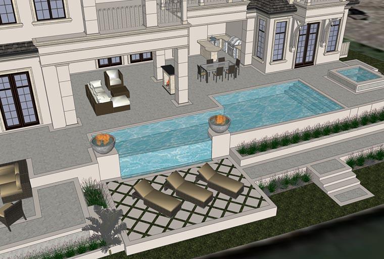 Florida, Mediterranean House Plan 71526 with 4 Beds, 7 Baths, 4 Car Garage Picture 1