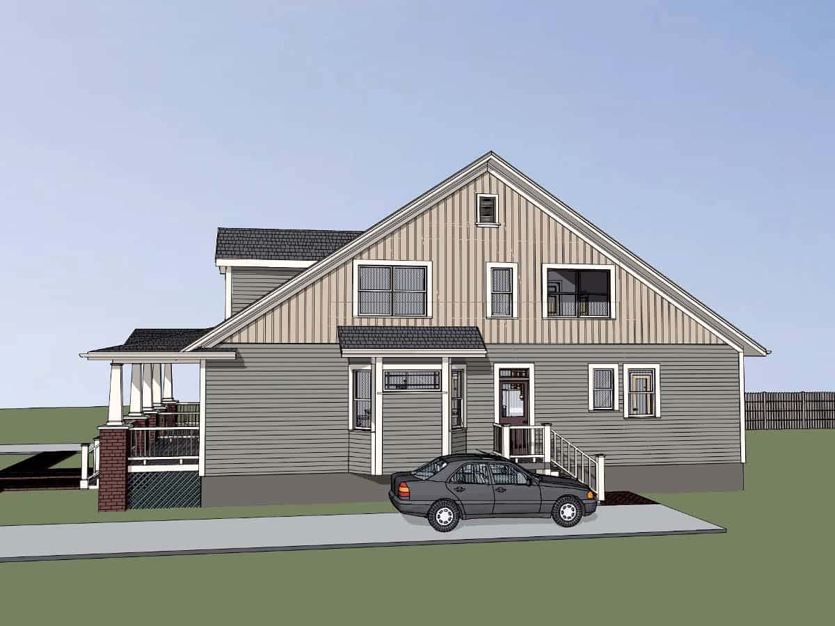 Bungalow Multi-Family Plan 72779 with 6 Beds, 4 Baths Picture 1
