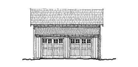 Garage Plan 73755