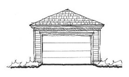 Garage Plan 73768