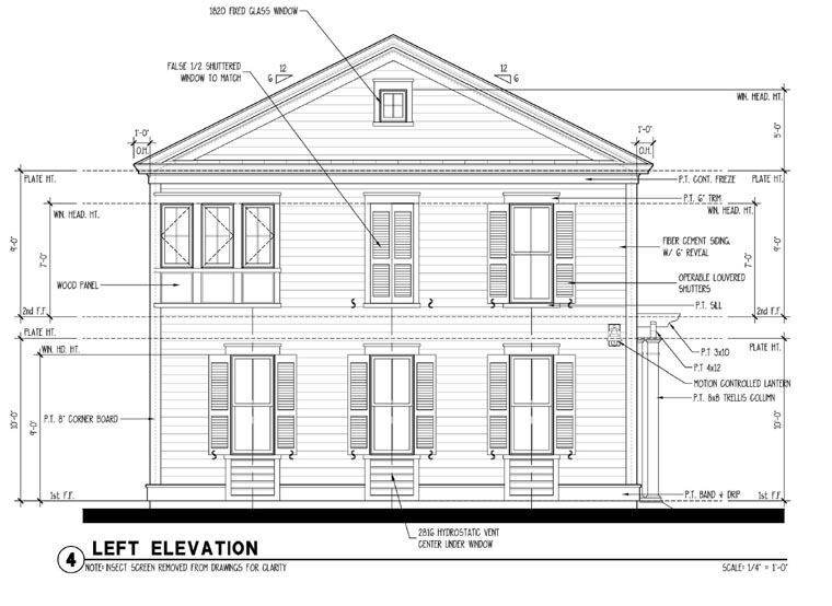 Colonial, Historic, Traditional 2 Car Garage Apartment Plan 73827 with 2 Beds, 1 Baths Picture 1