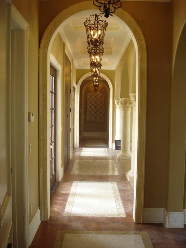 Mediterranean, Southwest House Plan 74243 with 5 Beds, 6 Baths, 4 Car Garage Picture 2