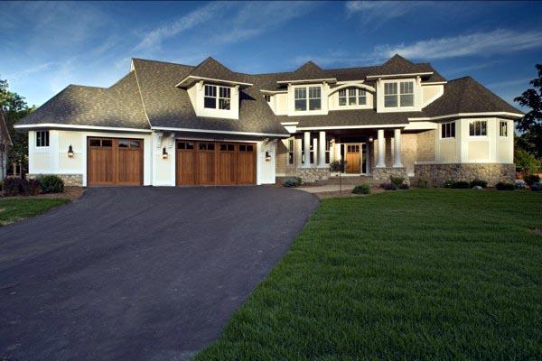 Craftsman House Plan 74828 with 4 Beds, 5 Baths, 3 Car Garage Elevation