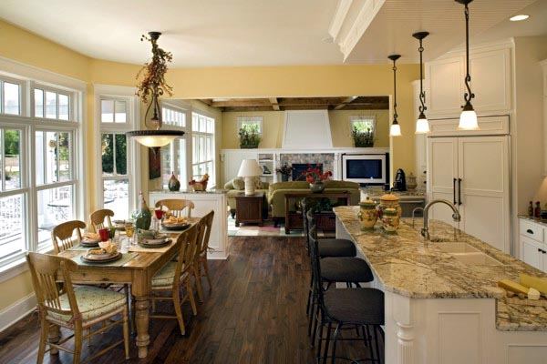 Craftsman House Plan 74828 with 4 Beds, 5 Baths, 3 Car Garage Picture 5