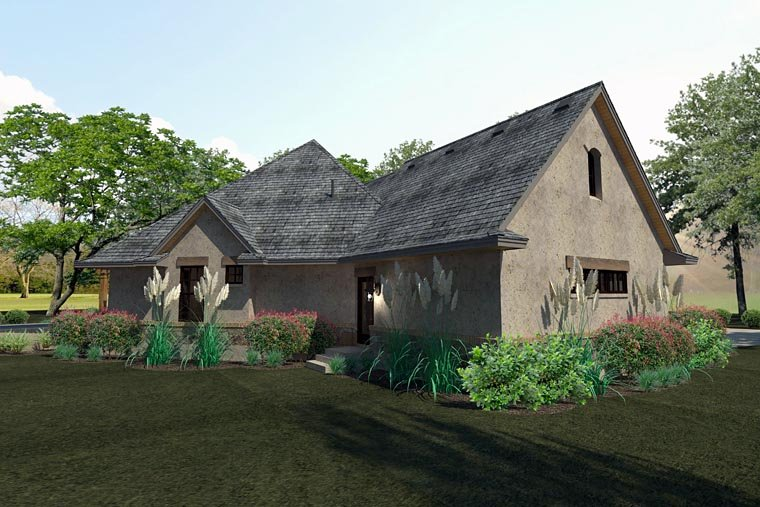 Craftsman, Traditional, Tuscan House Plan 75144 with 3 Beds, 3 Baths, 2 Car Garage Picture 5