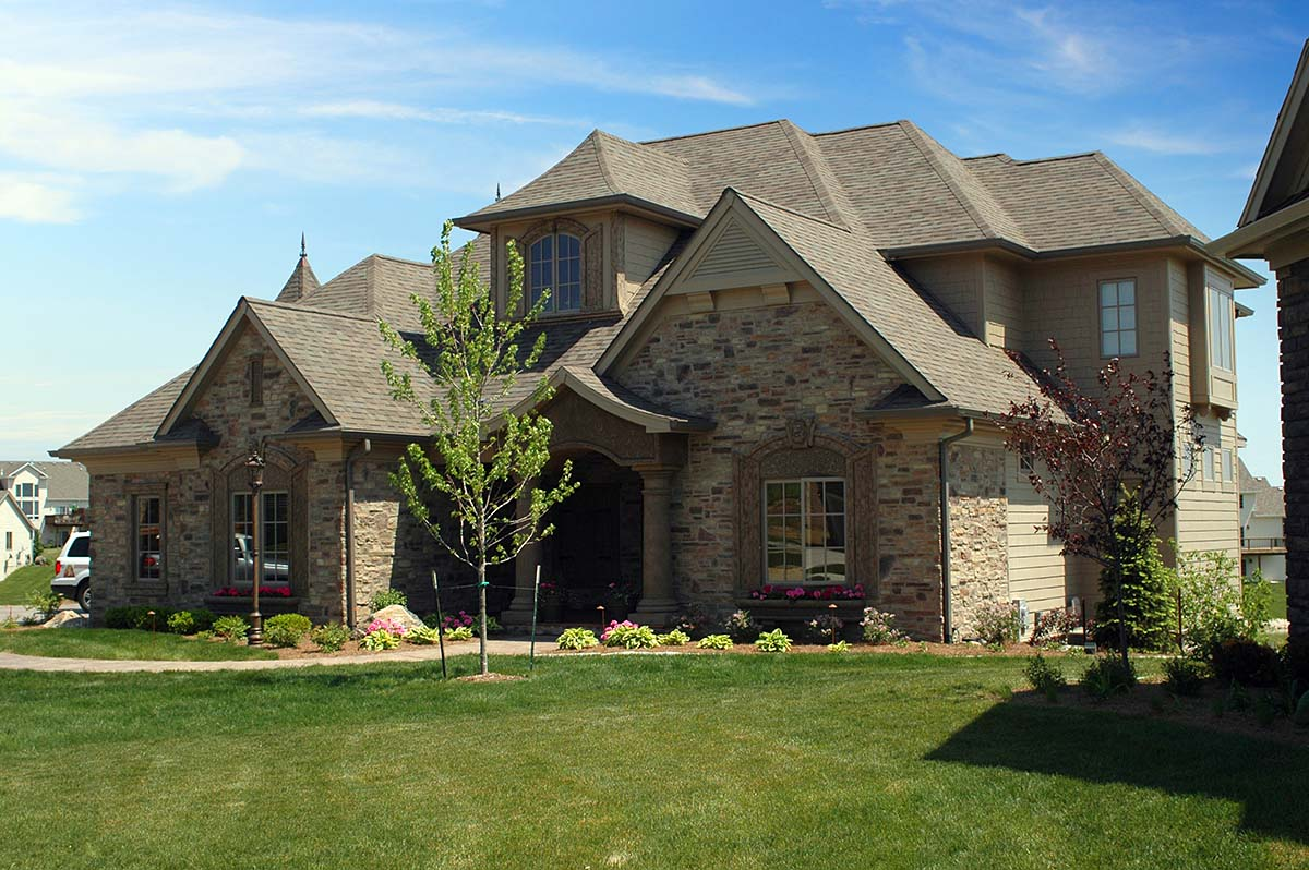 European, French Country, Tuscan House Plan 75492 with 4 Beds, 4 Baths, 3 Car Garage Picture 1