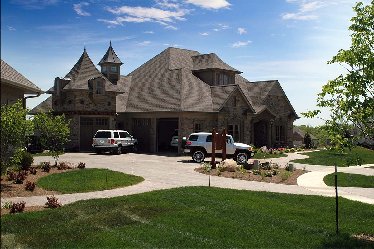 European, French Country, Tuscan House Plan 75492 with 4 Beds, 4 Baths, 3 Car Garage Picture 2