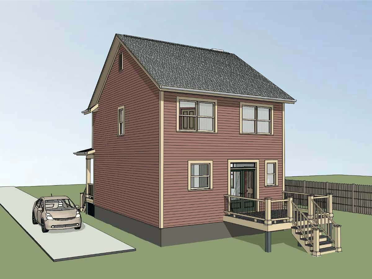Colonial, Country, Southern House Plan 75541 with 3 Beds, 3 Baths Picture 1