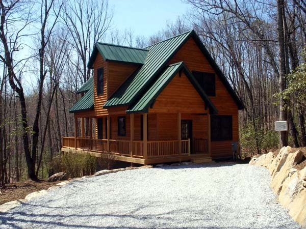 Cabin, Contemporary, Country House Plan 76001 with 2 Beds, 2 Baths Picture 11