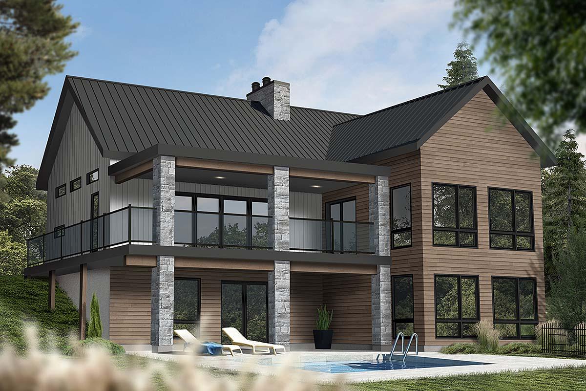 Coastal, Cottage, Farmhouse House Plan 76566 with 3 Beds, 3 Baths Elevation
