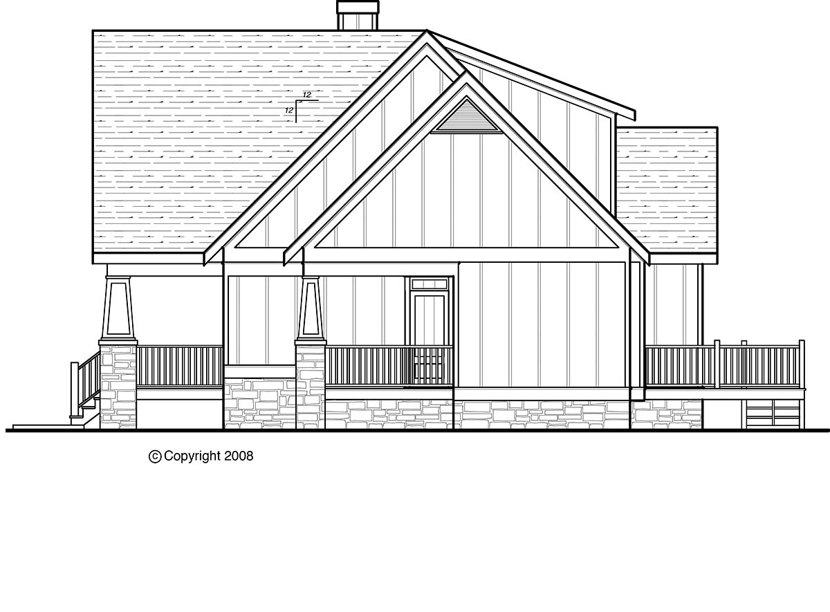 Country, Craftsman, Farmhouse House Plan 80263 with 3 Beds, 3 Baths, 3 Car Garage Picture 1