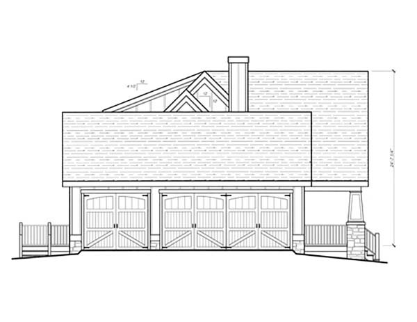 Country, Craftsman, Farmhouse House Plan 80263 with 3 Beds, 3 Baths, 3 Car Garage Picture 2