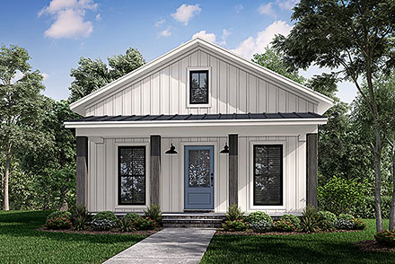 House Plan 80829