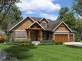 Plan Number 81231 - 3340 Square Feet